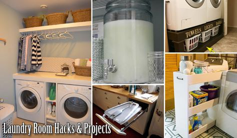 22 Hacks and DIY Projects to Make Doing Laundry More Efficient