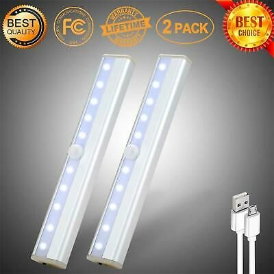 Ad Ebay Url Motion Sensor Magnetic Led Lights For Closet Wireless Rechargeable White 2 Pack In 2020 Led Lights Led Closet Light Motion Sensor Closet Light