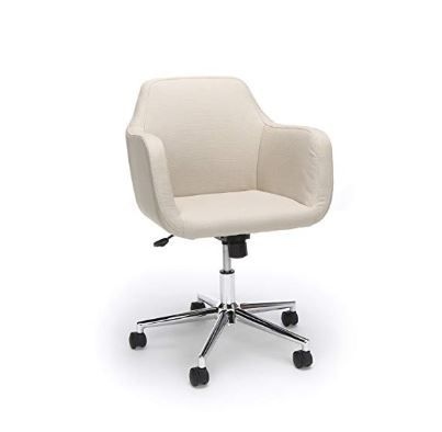 Essentials Upholstered Home Office Chair Ergonomic Desk Chair