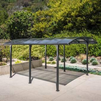 10 Ft X 19 5 Ft Canopy Carport Designs Patio Building A Pergola