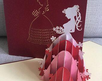 3d Pop Up Princess Card Birthday Card Pop Up Card Children Card 046 Pop Up Cards Birthday Cards Birthday Gifts For Boyfriend