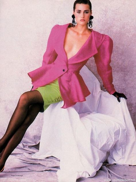 Yasmin 1987 big shoulder pads jacket uploaded by…