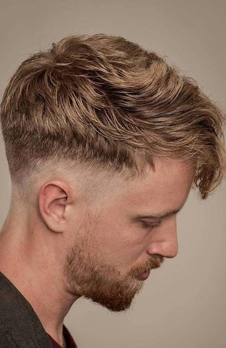 Drop Fade With Textured Top Menshairstyletrends Drop Fade