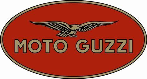 ETIQUETA Moto Guzzi Escudo Retro ETIQUETA