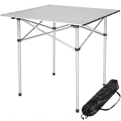 Mesa Plegable Enrollable De Aluminio Portatil Camping