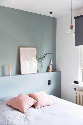Pastels In The Bedroom Homedecor Pink Bluewall Mit Bildern