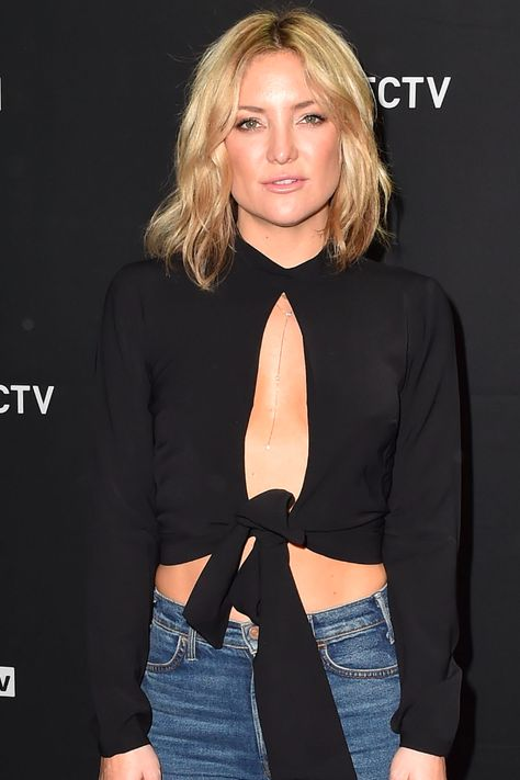 Kate Hudson's New Bob Will Make You Want to Chop Off Your Hair