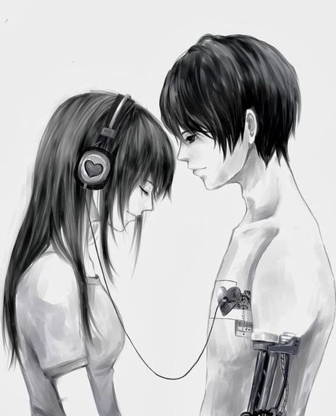 Imagen de anime and love