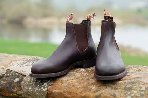 A Hume Country Clothing | Boots, Leather chelsea boots