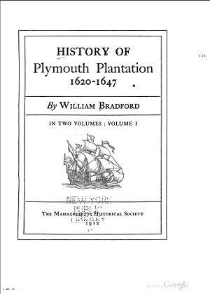 History of Plymouth plantation | family history | Genealogy