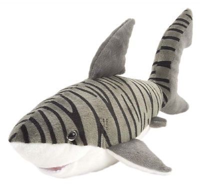 Cuddlekins Tiger Shark (15-inch) at theBIGzoo.com, a toy store with over 12,000 products.