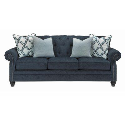 Navy Sofa, Whitash Furniture Columbia Sc