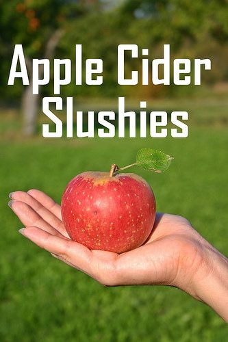 Fourth Of July Apple Cider Slushies Fruit Trees Fruit Trees In Containers Winter Vegetables Gardening