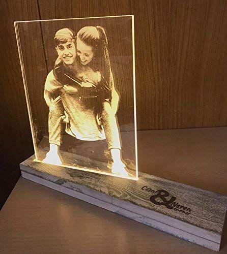 Creativa Digital Lampara Personalizada Con Tu Foto Con Base Iluminada Reg Regalos Originales Con Fotos Regalos Originales Pareja Regalos De Cumpleaños Hombre