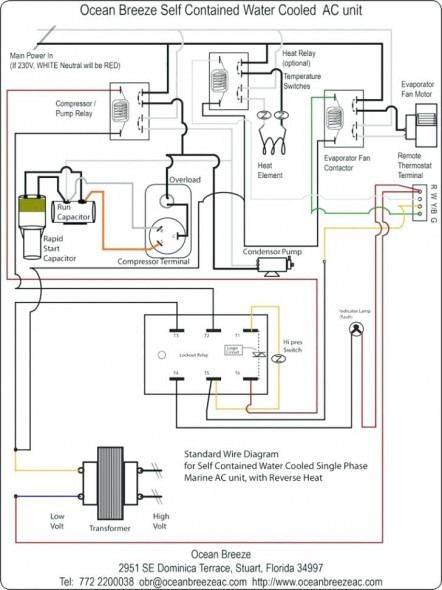 Heat Pump Condenser Fan Wiring Diagram With Images Ac Wiring