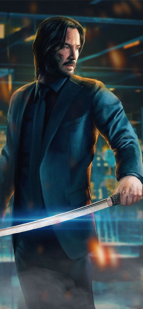 john wick 4k new iPhone 11 Wallpapers