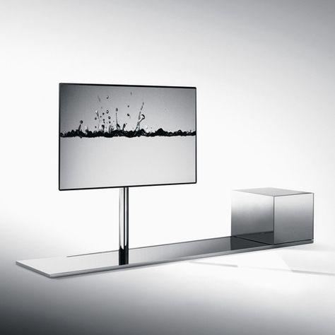 Bonaldo Porta Tv.Vision Bonaldo Accessories Swivel Tv Stand Bedroom Tv