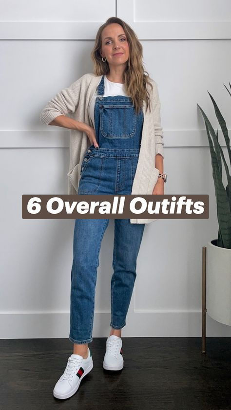 6 Overall Outifts