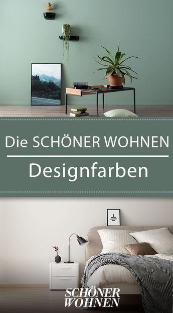 Neue Kollektion Die Schoner Wohnen Designfarben Wohnen Schoner Wohnen Wandfarbe Schoner Wohnen
