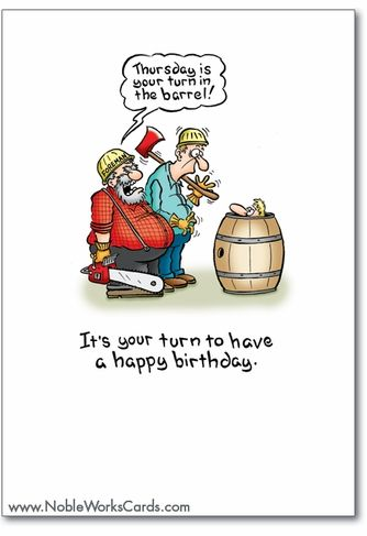 Thursday Card Funny Birthday Greeting Cards Birthday Humor Funny Birthday Cards