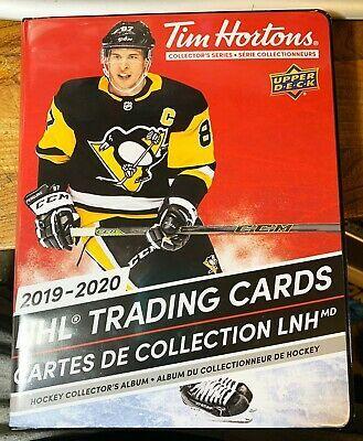 Ad Ebay Link 2019 20 Ud Ud Tim Horton S Nhl Near Complete Master Set 223 Cards Binder Tim Hortons Hockey Cards Hockey