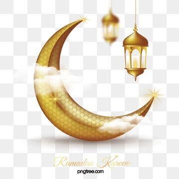 Ramadan Golden Moon Lantern Sacred Decoration Ramadan Moon Muslim Png And Vector With Transparent Background For Free Download Ramadan Images Gold Lanterns Ramadan Lantern