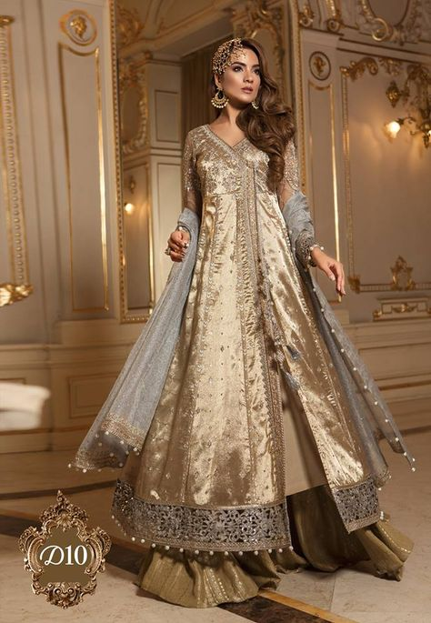 Items similar to Maria B Mbroidered Wedding Collection 2018 -Ganga Jamni- Party wear, Formal Pakistani, Indian - Made to order on Etsy