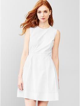 00bc0b03d0 Laser-cut fit   flare dress
