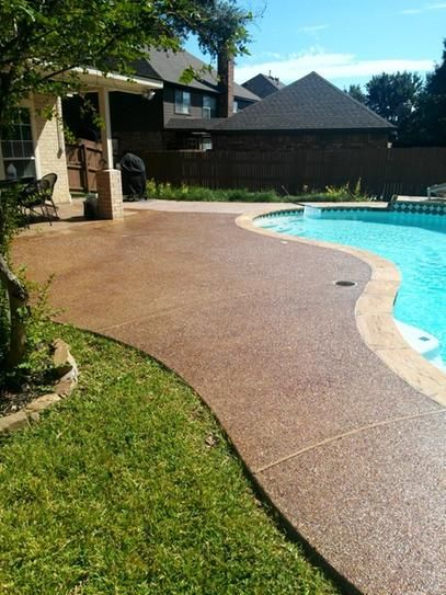 Eagle 5 Gal Gloss Coat Brown Tinted Semi Transparent Wet Look Solvent Based Acrylic Exposed Aggregate Concrete Sealer Eub5 The Home Depot Exposed Aggregate Concrete Aggregate Concrete Exposed Aggregate