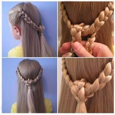 Resultado De Imagen Para Peinados Faciles Para Ninas Paso A Paso Girls Hairstyles Easy Hair Styles Little Girl Hairstyles