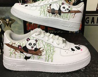 Custom Nike Air Force One Lips Kiss Bite Custom