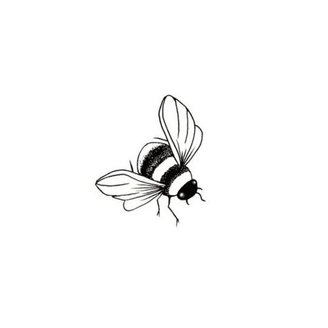 Bee (Miniature) by Lavinia Stamps Clear Polymer Stamp Tracey Dutton Bumble Bee Miniature Insects Fairy Magic Acrylic Stamp Bumble Bee Tattoo, Honey Bee Tattoo, Bee Outline, Tattoo Outline, Bee Sketch, Bee Silhouette, Illustration Tattoo, New Zealand Tattoo, Small Bees