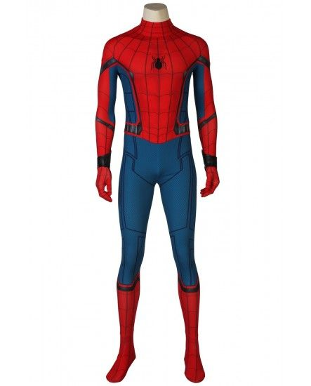 Hot Spiderman Costume Superhero Cosplay Bodysuit Costume 3D UK Cool Suit Dress