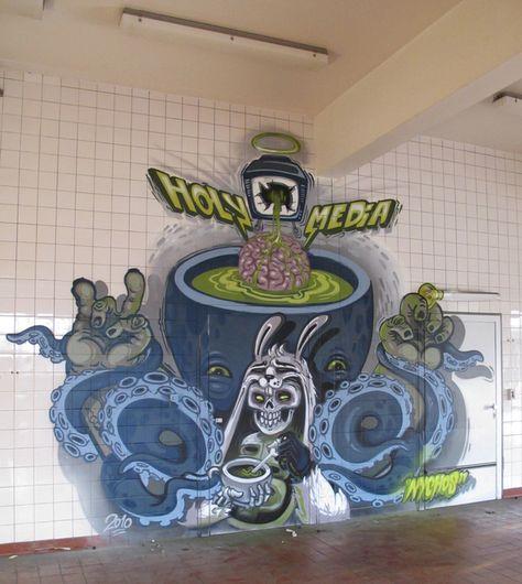 Street/Graffiiti/Mural Art by NYCHOS , via Behance