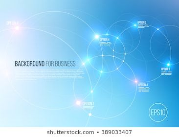 Vector Abstract Technology Background With Communication Future Concept Rounds Circles And Lighting Technology Background Letterhead Design Website Banner