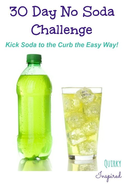 Trying to quit drinking soda? Join the 30 day no soda challenge. Just in time for your New Year's resolutions! Great support and FB group too!