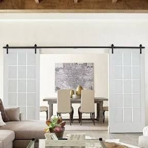 Quadro Glass Sliding Closet Doors With Installation Hardware Kit Sartodoors Size 72 X 84 Google Shopping In 2020 Interior Barn Doors Wood Glass Barn Style Doors