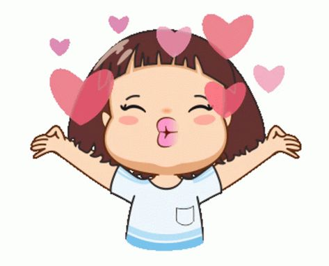 Flying Kiss Hearts GIF - FlyingKiss Hearts Love - Discover & Share GIFs