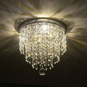 Mercer41 Chingford 8 Light Unique Chandelier Reviews Pendant Ceiling Lamp Crystal Ceiling Light Crystal Chandelier