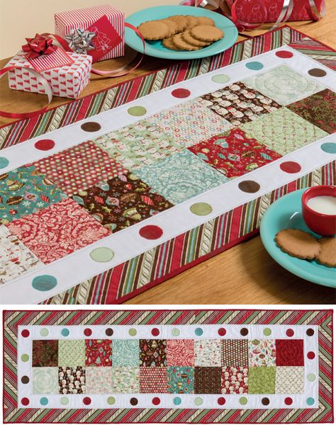 Holiday Delight table runner
