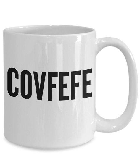 Covfefe Ceramic Coffee Mug  #Ceramic #Coffee #Covfefe #Mug