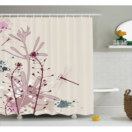 Enhance The Look Of Your Bathroom With Trendy Shower Curtain Rods Bathroom Interior Design Bathroom Interior Bathroom Sets