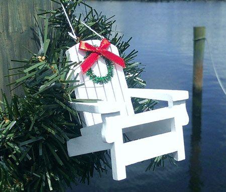 Beach Chair Ornament   OceanStyles.com