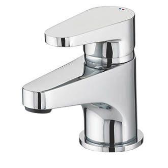 Bristan Quest Bathroom Basin Mono Mixer Tap with Click Waste   Basin Mixer Taps…