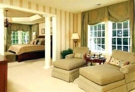 Love This Sitting Area In A Master Bedroom Sita Montgomery Interiors Local Client Project Re Bedroom With Sitting Area Bedroom Seating Bedroom Sitting Room