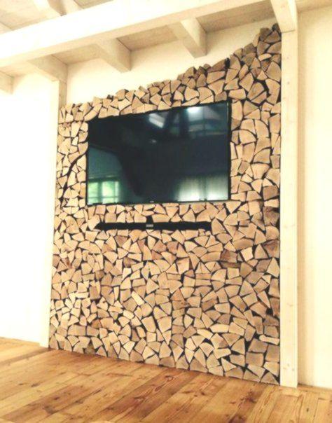 Tolle Ideen Fur Modernen Wandschmuck Holz Wohnzimmer
