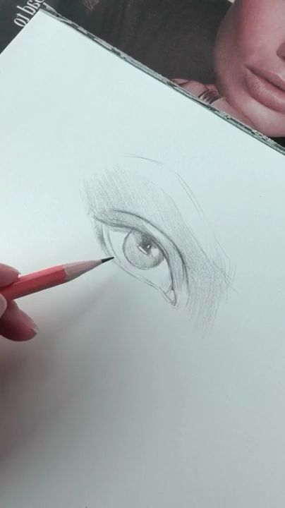 How to draw realistic eyes? 👁 - #draw #Eyes #forbeginners #Realistic