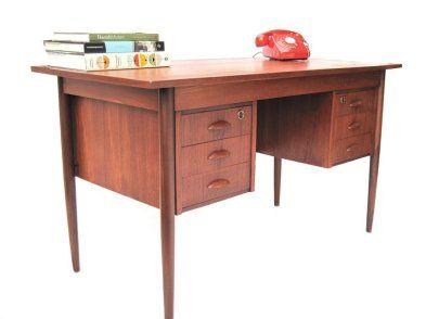 Vintage Retro Danish Desk For Sale In Blackrock Dublin From Kirkmodern Danish Desk Sales Desk Desk