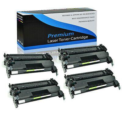 4 Pk Toner Cartridge For Hp Cf226a 26a Black Laserjet Pro Mfp M426fdw M426fdn In 2020 Toner Cartridge Printer Toner