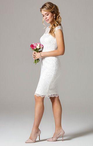Amber Wedding Dress Short Ivory By Alie Street Kleid Standesamt Braut Zivil Hochzeits Kleider Hochzeit Kleid Standesamt